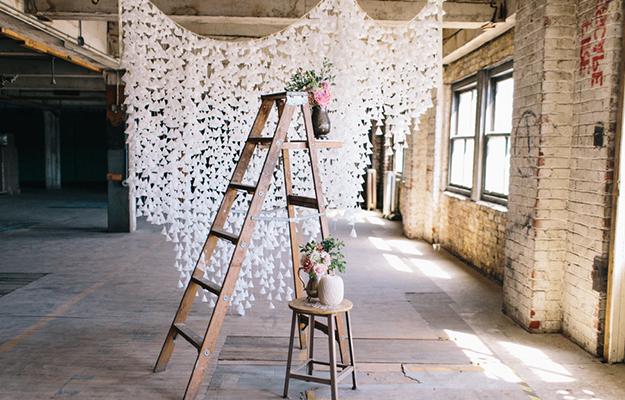 Свадебный декор своими руками из подручных средств