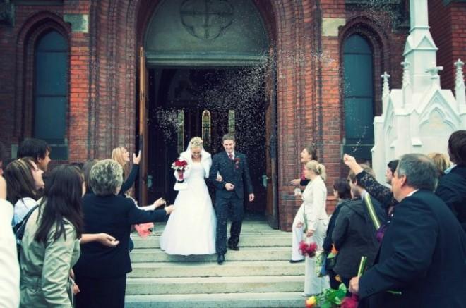 Чудесный свадебный день