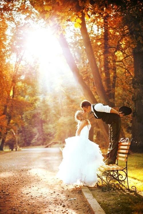 Золотое свадебное настроение