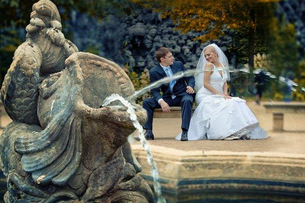 Красивая осенняя свадьба