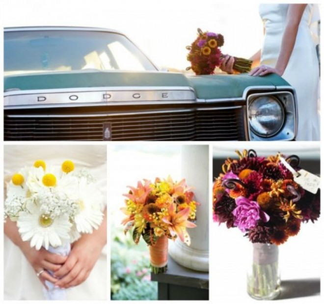 Очаровательная эхинацея в свадебном букете