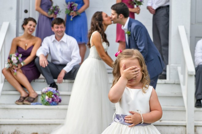Дети на свадьбе - море положительных эмоций