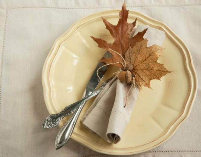 Осень дарит множество идей для оформления праздника