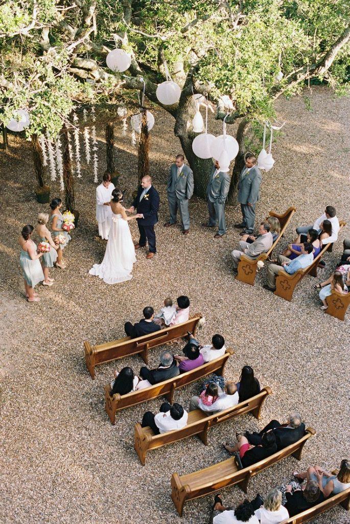 Необычные ракурсы свадебных фотографий