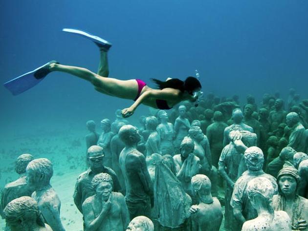 Подводный музей в