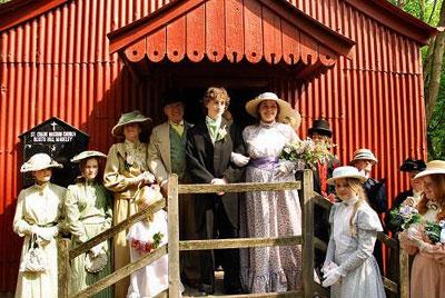 Свадебный стиль - Викторианский