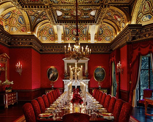 Банкетный зал в викторианском стиле