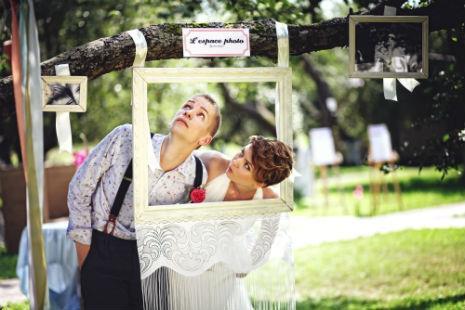 Антураж для романтической свадьбы