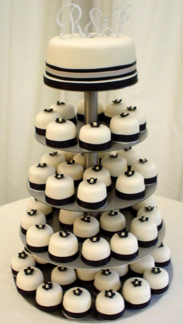 Последние тенденции - свадебный десерт из мини кексов
