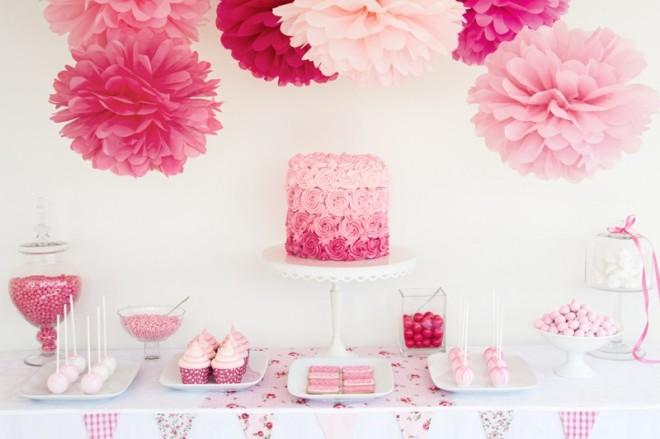 Свадьба, оформленная в красно-розовых тоах