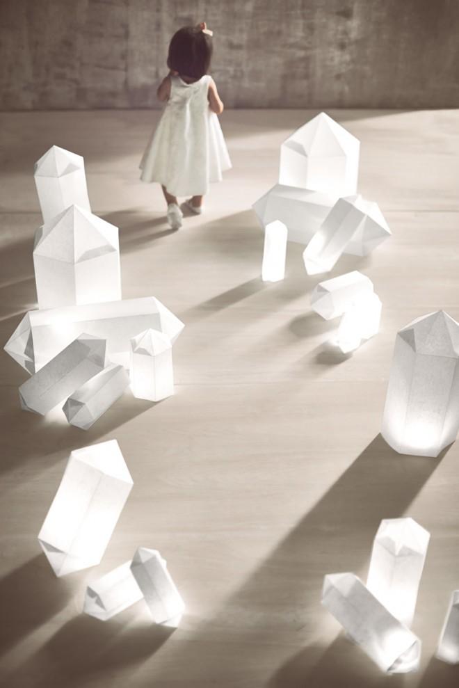 Фонари - кристаллы для оформления свадьбы