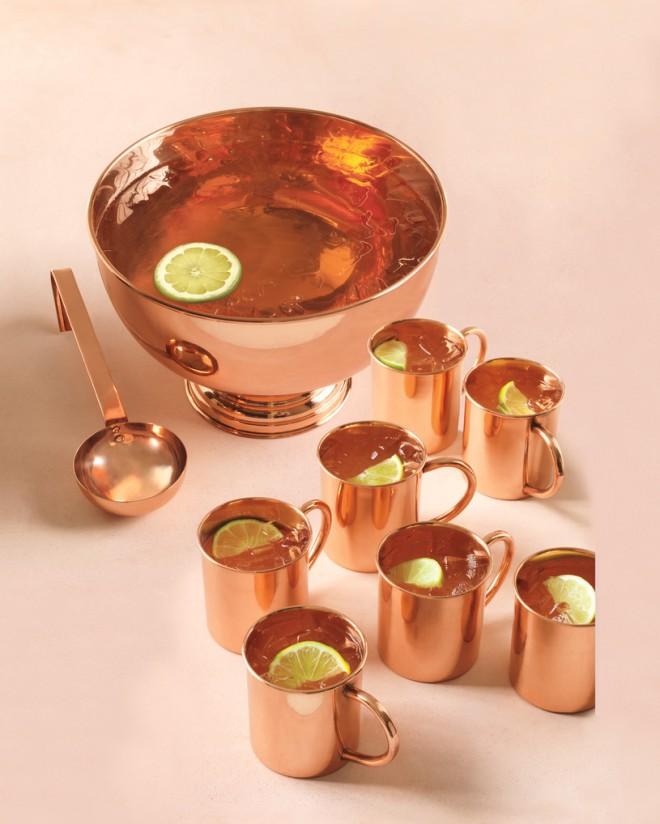 После свадьбы, медные чашки станет частью вашей кухни
