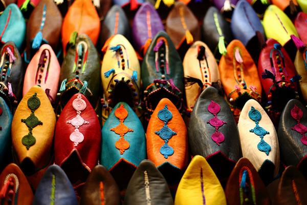 Бабуши - традиционная  марокканская обувь