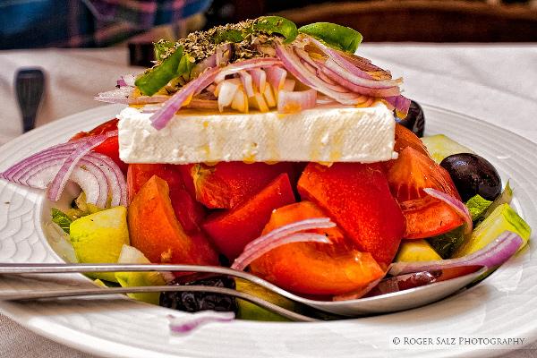 Побывав в Греции попробуйте... греческий салат