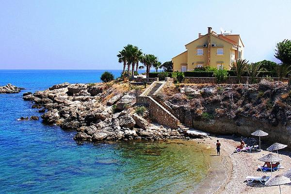 Романтический медовый месяц в Греции