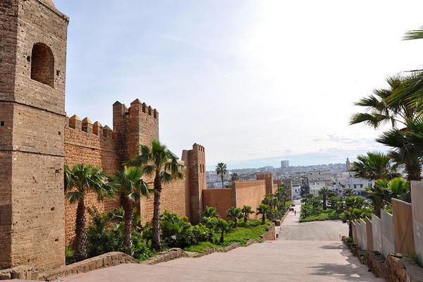 Город Рабате - столица Марокко