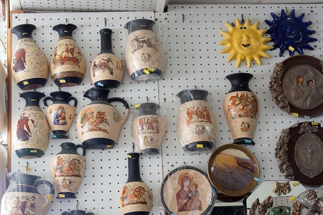 Сувениры с острова Крит
