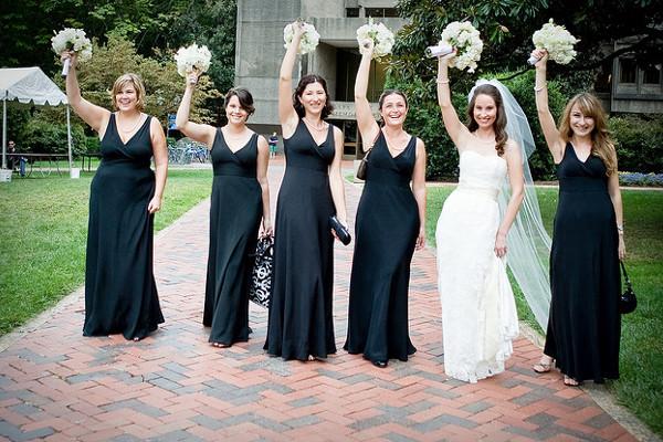 Невеста и ее прекрасное окружение