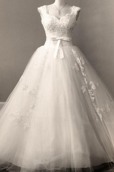 Классическое свадебное платье