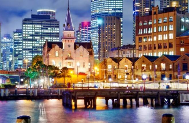 Вечерний Мельбурн