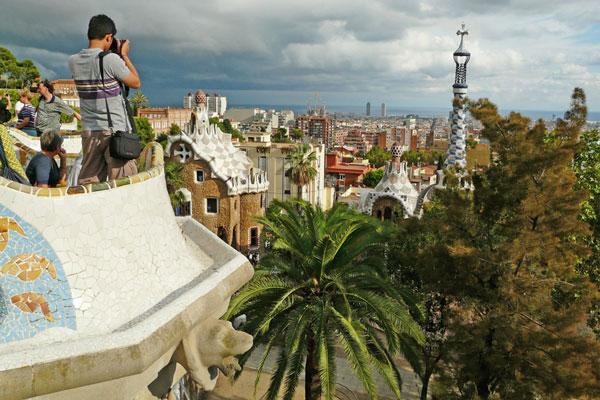 Барселона будет радовать вас погожими днями  даже в октябре