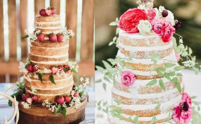 Торты без крема - модная свадебная тенденция