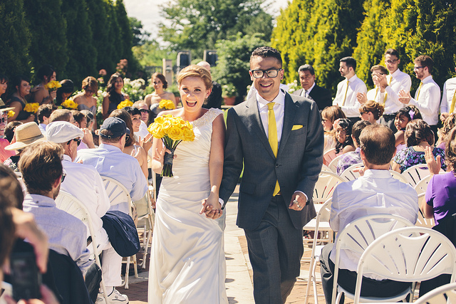 Яркие детали на свадьбе