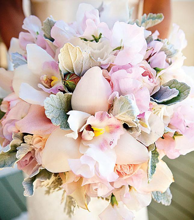 Свадебный пастельный букет