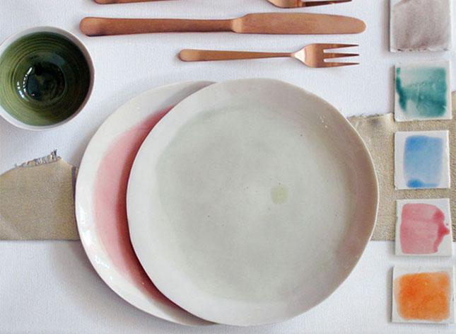 Дизайнерская посуда для тематической свадьбы
