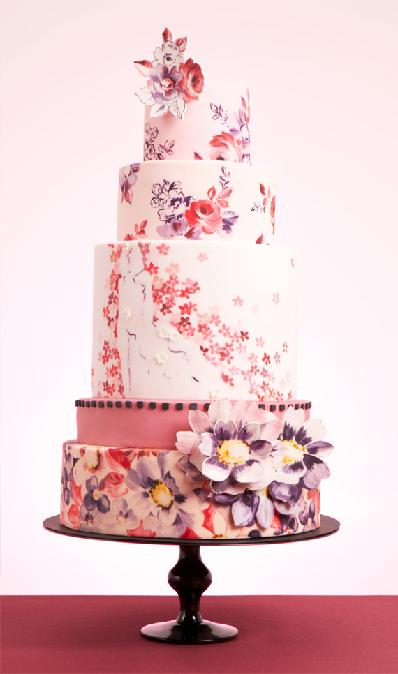 Расписной торт