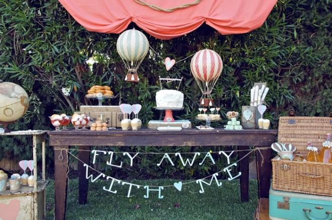 Кенди бар для тематической свадьбы