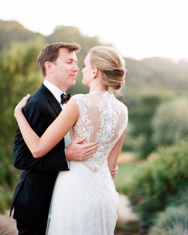 """Свадебная прически с """"ракушкой"""""""
