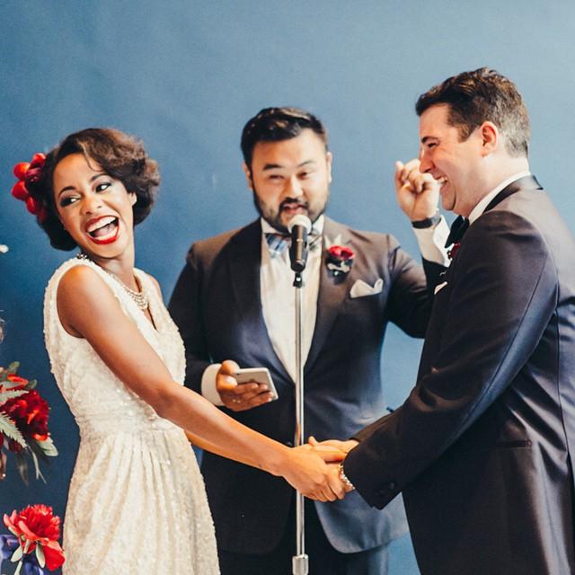 Свадебная прически на короткие волосы