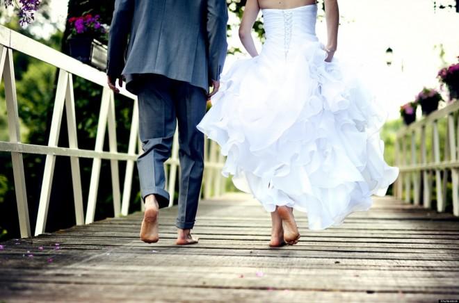 Свадьба на пляже босиком