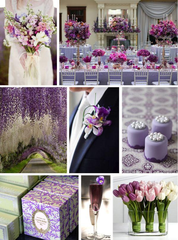 Свадьба цвета лаванды