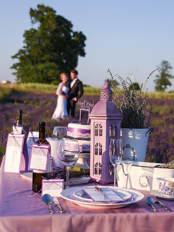 Декор свадьбы в стиле Прованс