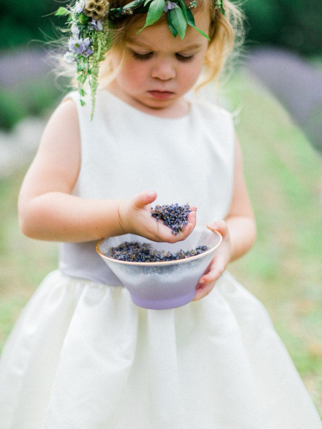 Цветки лаванды можно использовать вместо риса для обсыпания молодоженов