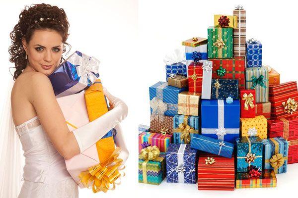 Подарки на свадьбу должны быть желанными