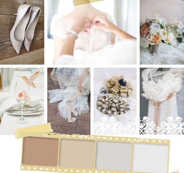 Мягкие пастельные тона - беспроигрышный вариант для свадьбы
