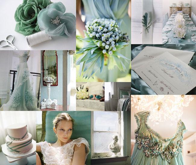 Свадьба в изумрудных оттенках