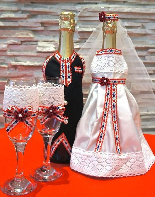 Поздравительный набор для жениха и невесты