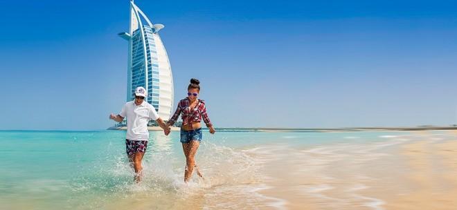 Безупречные пляжи в Арабских Эмиратах