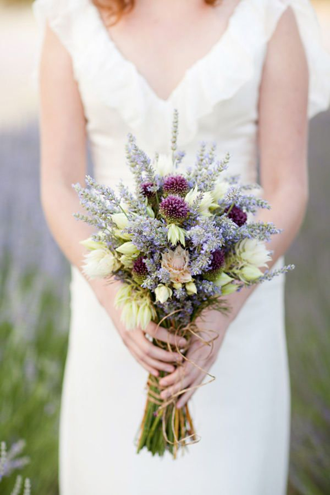 romantic-lavender-wedding-bouquet-with-bridal-blush-protea