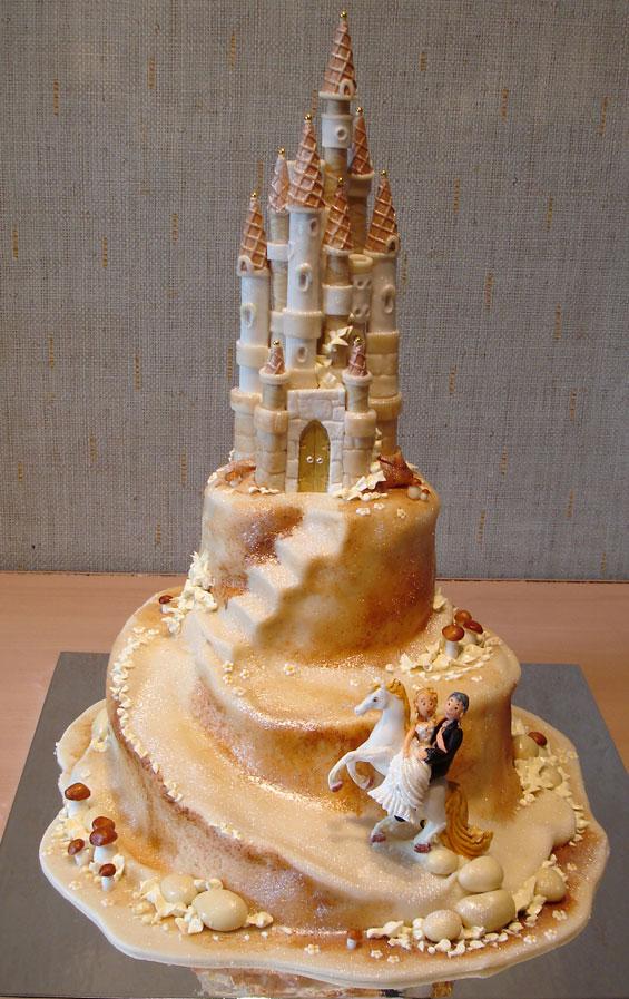 Фантастический свадебный торт