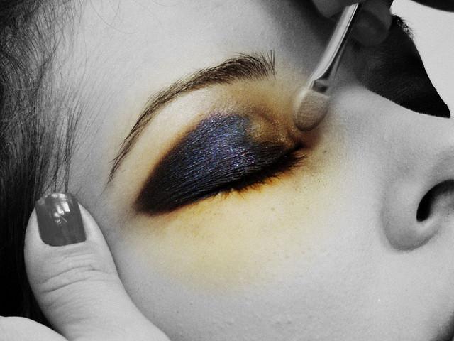 Не нужно экспериментировать с макияжем накануне сварьбы