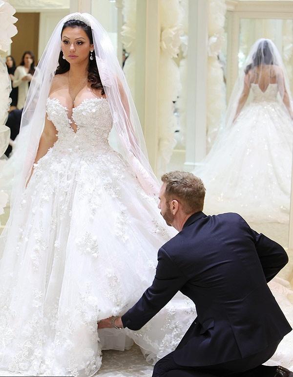 Платье фасона пренцесса