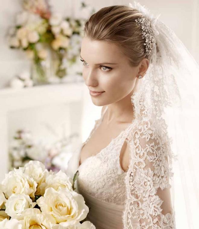 Свадебный макияж в естественных тонах