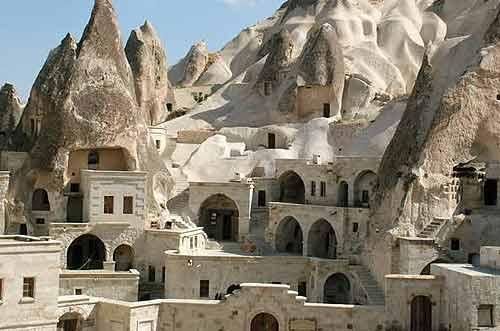 Отели в пещерах Каппадокии