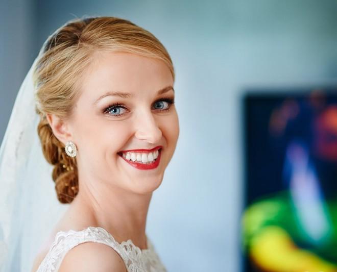 Удачный макияж - залог прекрасного настроения невесты
