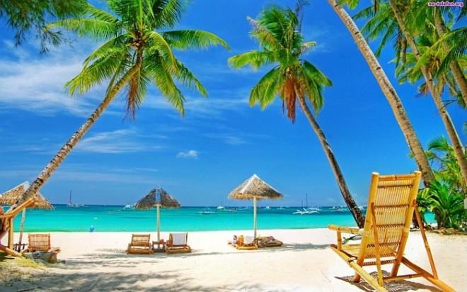 Лазурный океан Доминиканы